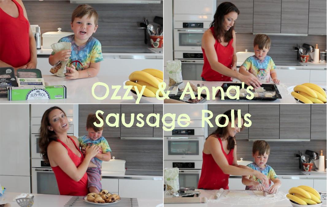Anna & Ozzy's Speedy Sausage Rolls